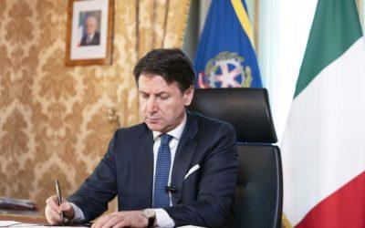 Il discorso di Conte sul nuovo decreto: «Dobbiamo affrontare la Fase 2 con metodo e rigore»